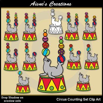Circus Counting Set