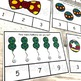 Circus Counting Task Cards, Math Activity
