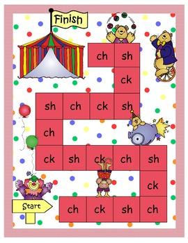Circus Digraph Game