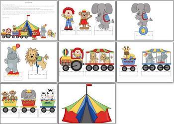 Circus Diorama Display