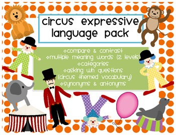 Circus Expressive Language Pack
