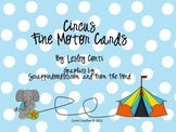 Circus Fine Motor Cards