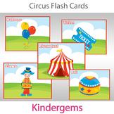 Circus Flash Cards; Preschool; Kindergarten; Homeschool; P