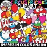 Circus Friends Clipart {Circus Clipart}