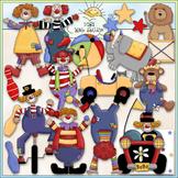 Circus Fun Clip Art - Circus Animals Clip Art - Clown Clip