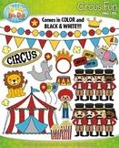 Circus Fun Clipart {Zip-A-Dee-Doo-Dah Designs}