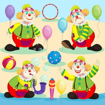 Circus Fun Clipart