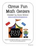 Circus Fun Math Centers