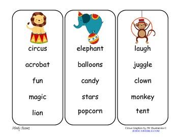 Circus Fun Pack - ABC Order, Write the Room, & Digraph Sort