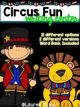 Circus Fun Writing Center