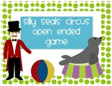 Circus Game Board Silly Seals FREEBIE