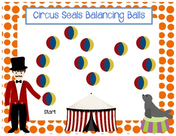 Circus Game Boards