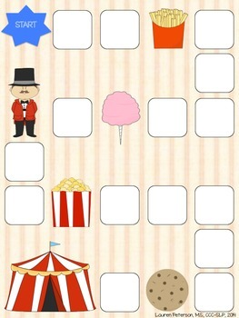 Circus Gameboard *FREEBIE*