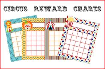 Circus Incentive Reward Charts