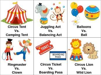 Circus Language Packet