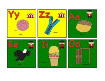 Circus Letter Sounds
