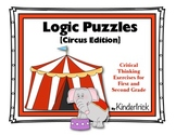 Advanced Logic Problems for 1st and 2nd Grades {Circus Edition}
