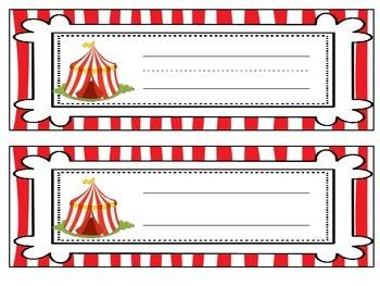 Circus Mini Classroom Decorating Kit