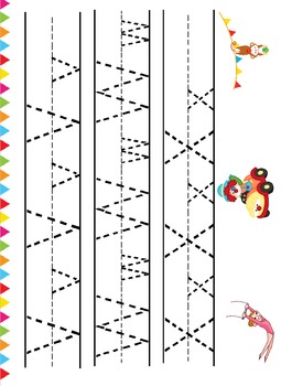 Circus Mini pack color and Black and White