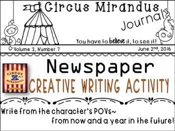 Circus Mirandus- Novel Study - by:Cassie Beasley- Creative