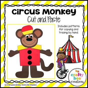 Circus Monkey Craft