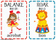Circus Movement Cards -20 Cards (Transition Activity or Brain Breaks)