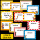 Circus Theme Nameplates and Editable Labels