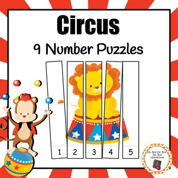 Circus Number Puzzles