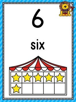 Circus Numbers 1-20