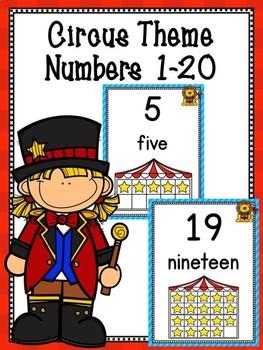Circus Numbers 0-20