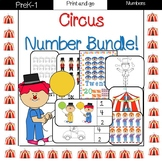Circus Numbers 1-20 {Bundle}