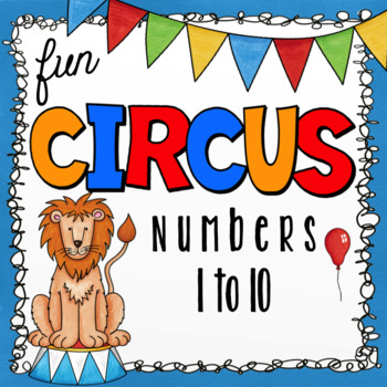 Class Numbers - Circus Theme