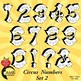 Circus Numbers Stamps, Carnival Clipart, {Best Teacher Tools} AMB-1189