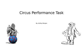 Circus Performance Task