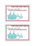 Circus Postcard - Freebie!