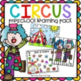 Circus Preschool Theme Learning Pack