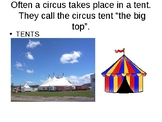 Speech Therapy-Special Education-Circus Presentation