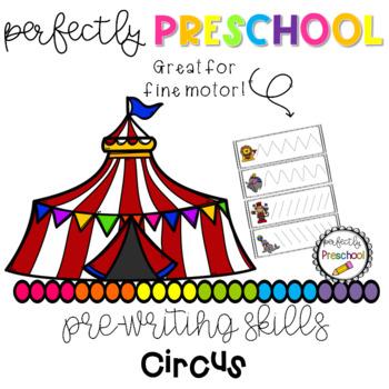 Circus Prewriting Skills
