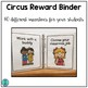 Circus Reward Binder (Positive Behavior Incentive Program)