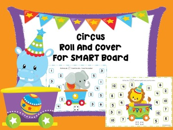 Circus Roll And Cover For Smart Board