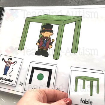 Circus Sentence Building Pack, Adapted Books