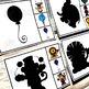 Circus Shadow Matching Task Cards