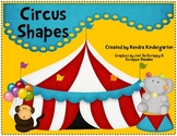 Circus Shapes - Games & Activities for Basic Shapes