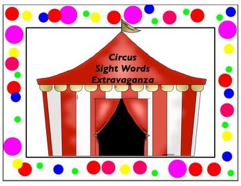 Circus Sight Word Extravaganza