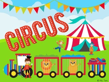 Sight Word Slide Show, Literacy First List A, Words 51-100, Circus Fun