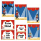 Circus Signs and Labels- Editable