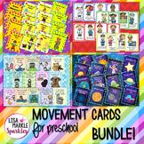 Circus Space Nursery Rhyme Community Helper Movement Cards Brain Break
