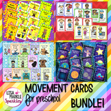 Circus Space Nursery Rhyme Community Helper Movement Cards