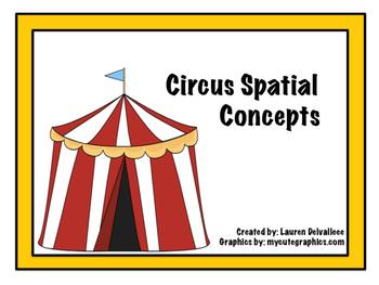 Circus Spatial/Locational Concept Book