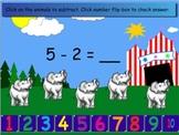 SMARTboard Circus Subtraction